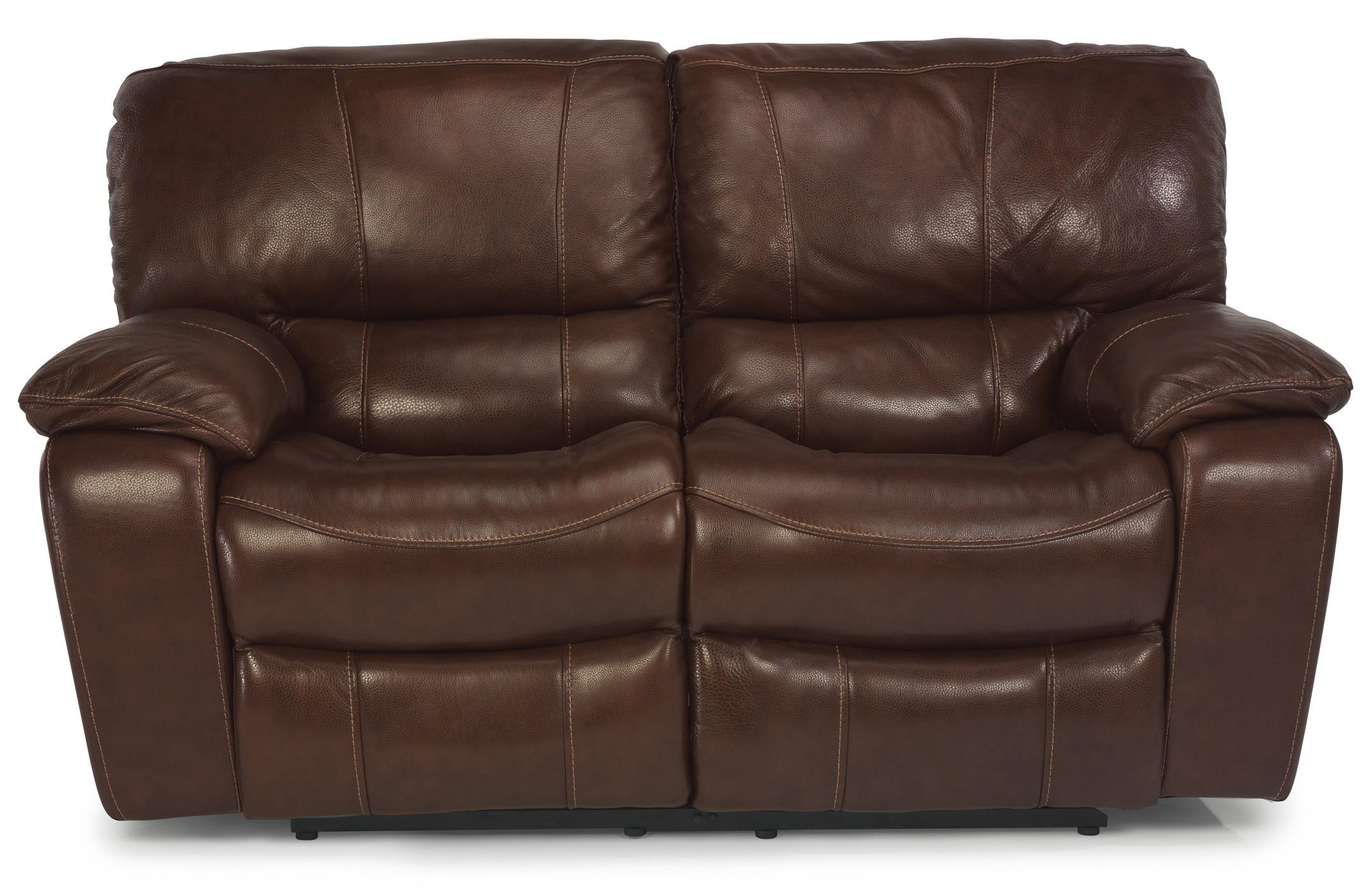 Flexsteel Latitudes - Grandview Power Reclining Love Seat - Item Number: 1241-60P