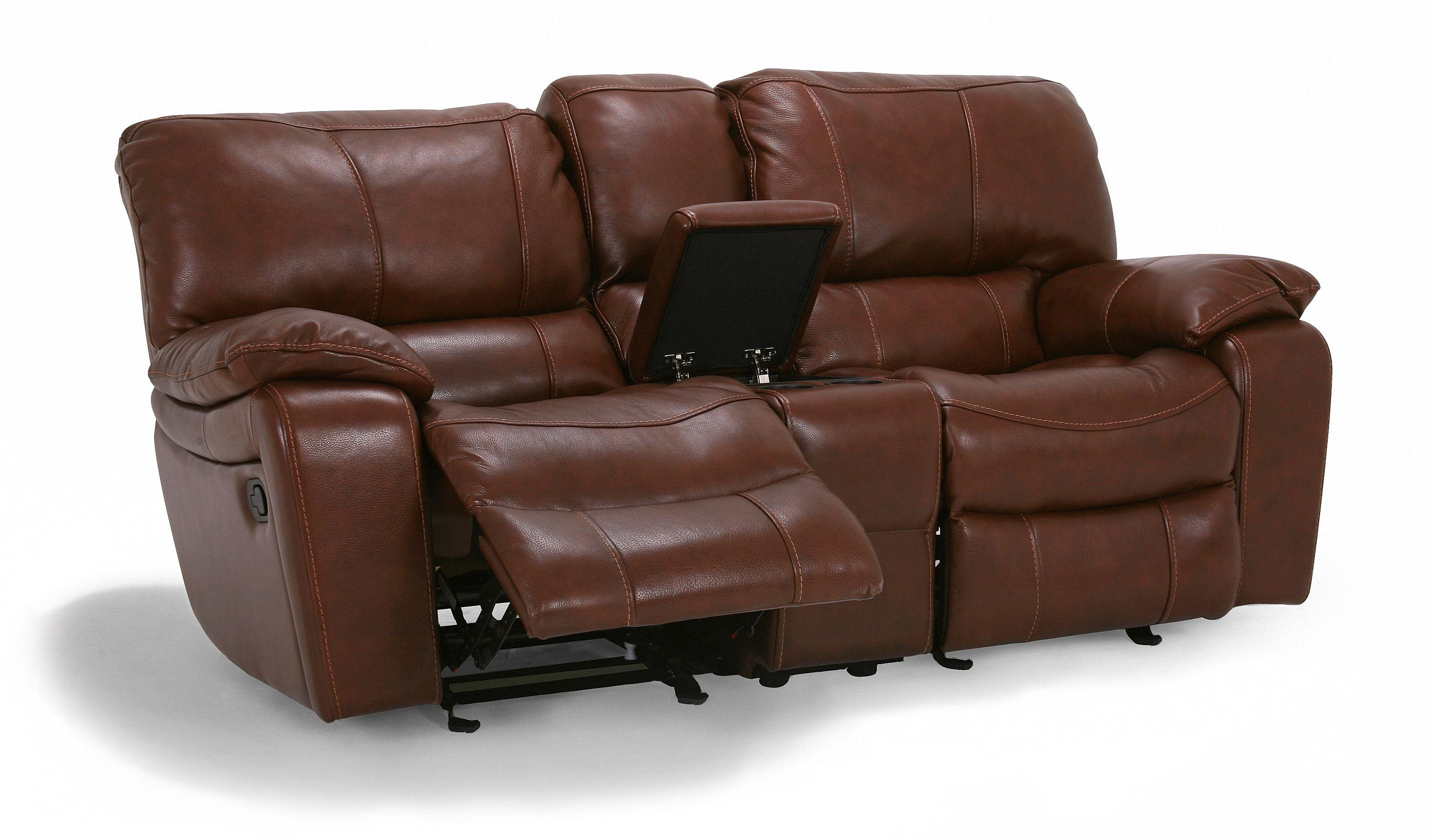 Flexsteel Latitudes - Grandview Double Reclining Love Seat - Item Number: 1241-604