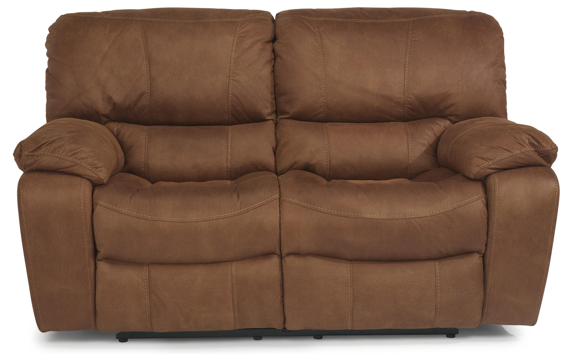 Flexsteel Latitudes - Grandview Power Reclining Love Seat - Item Number: 1541-60P