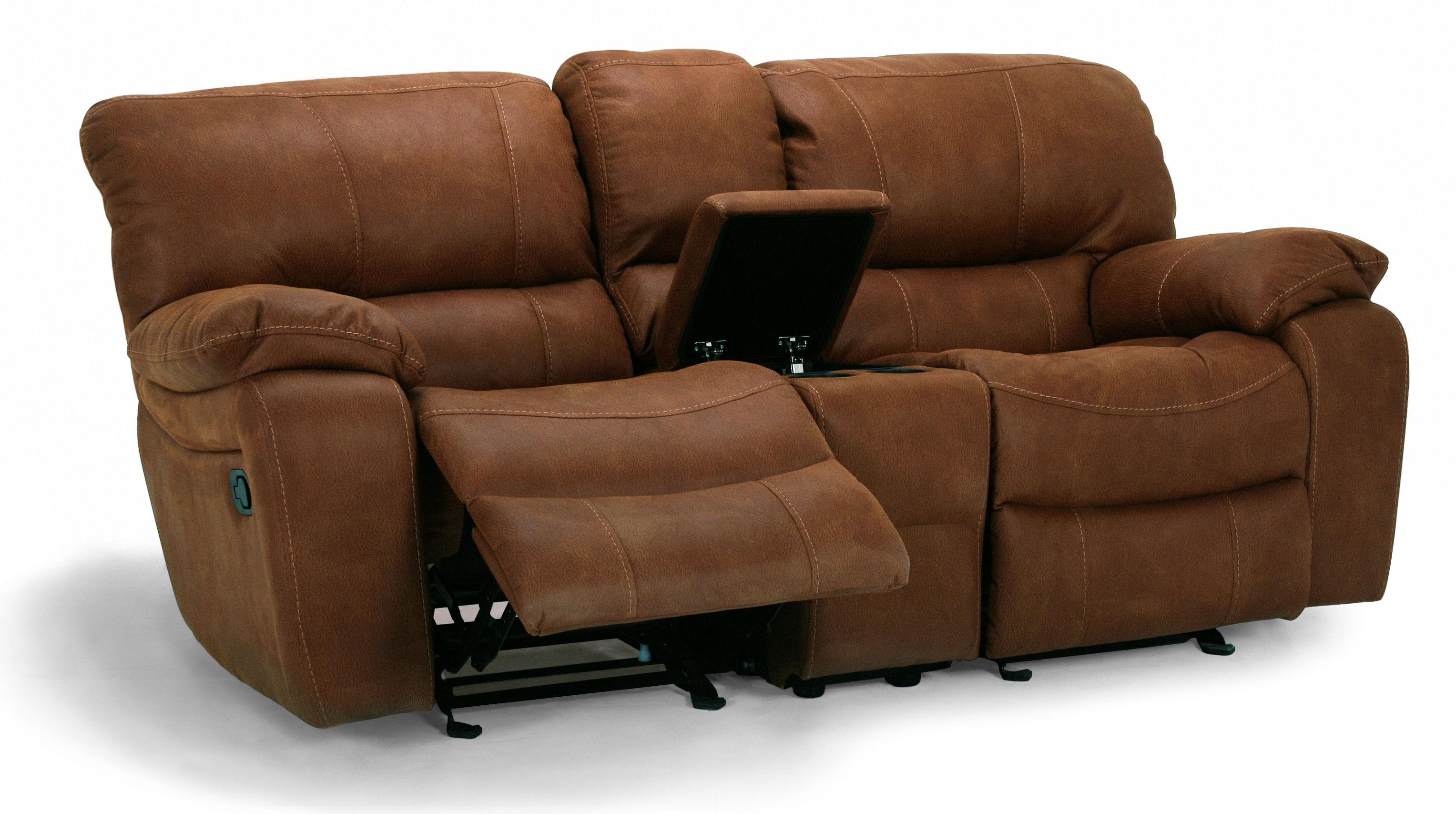 Flexsteel Latitudes - Grandview Double Power Reclining Loveseat - Item Number: 1541-604P
