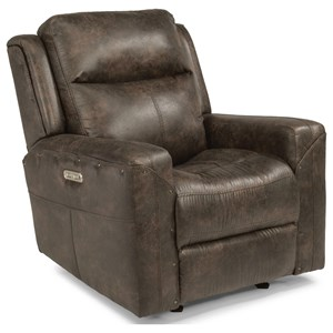 Flexsteel Latitudes - Gunner Power Gliding Recliner