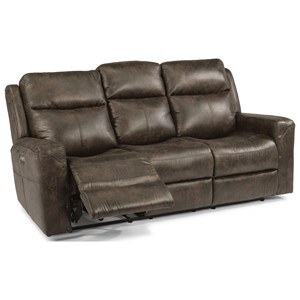 Flexsteel Latitudes - Gunner Power Reclining Sofa