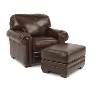 Flexsteel Harrison Chair and Ottoman