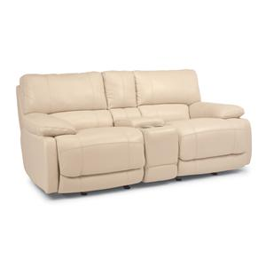 Flexsteel Latitudes - Hermosa Rocking Reclining Love Seat
