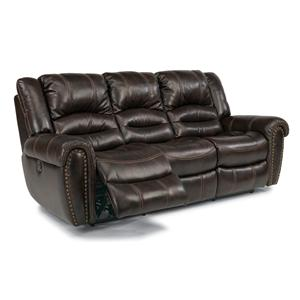 Flexsteel Latitudes - Hometown Dbl Reclining Sofa