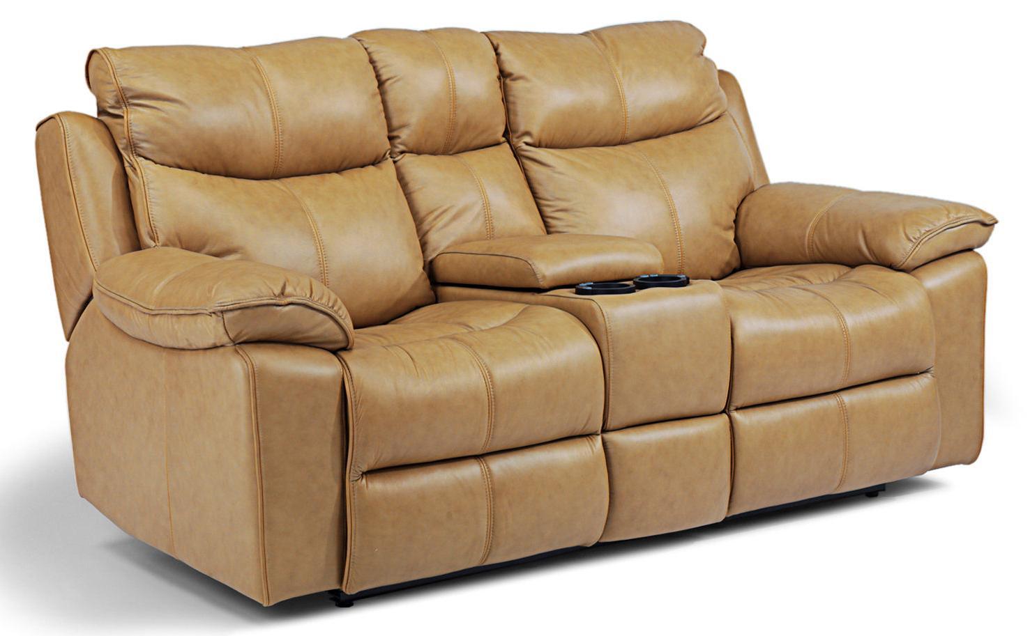 Flexsteel Latitudes - Julio Power Love Seat with Console - Item Number: 1320-604P