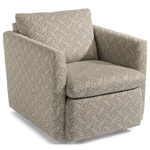 Flexsteel Kendall Swivel Accent Chair