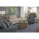 Flexsteel Kennicot Living Room Group - Item Number: 5707 Living Room Group 1