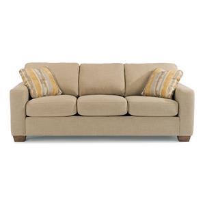 Flexsteel Kennicot Contemporary Casual Loveseat Belfort Furniture Love Seat