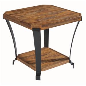 Flexsteel Kenwood Square End Table