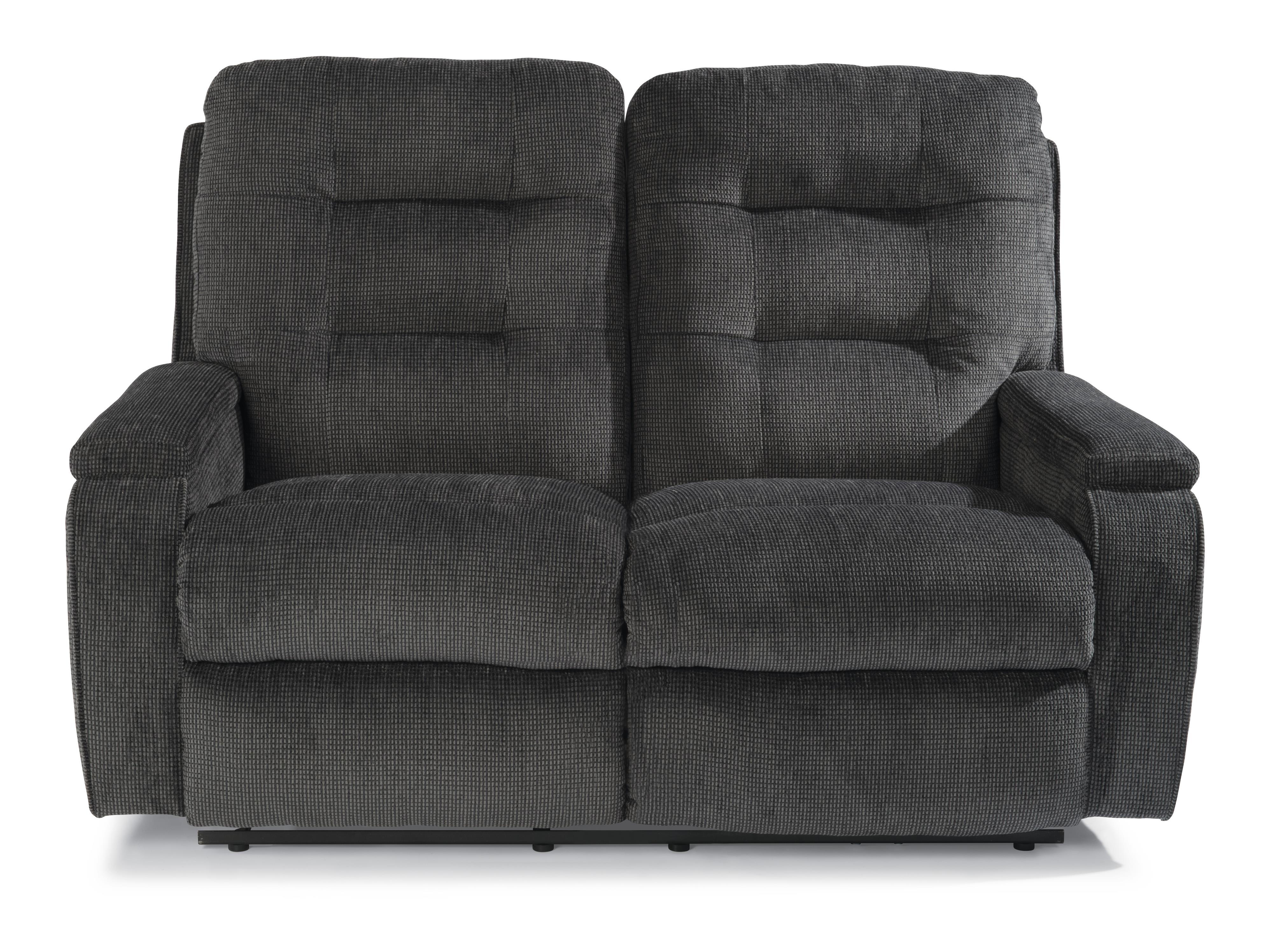 Flexsteel Kerrie Power Reclining Loveseat - Item Number: 2806-60M-163-40