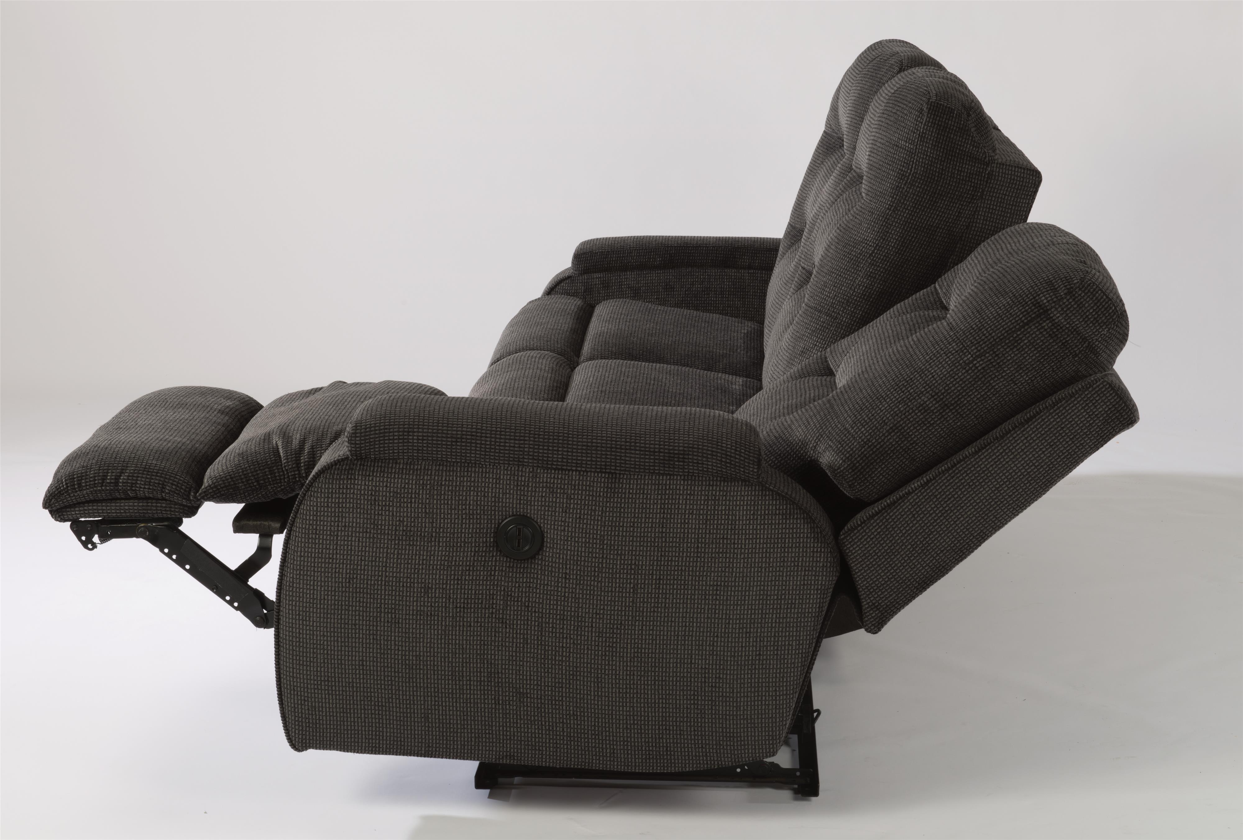 Flexsteel Kerrie Casual Biscuit Back Power Reclining Sofa