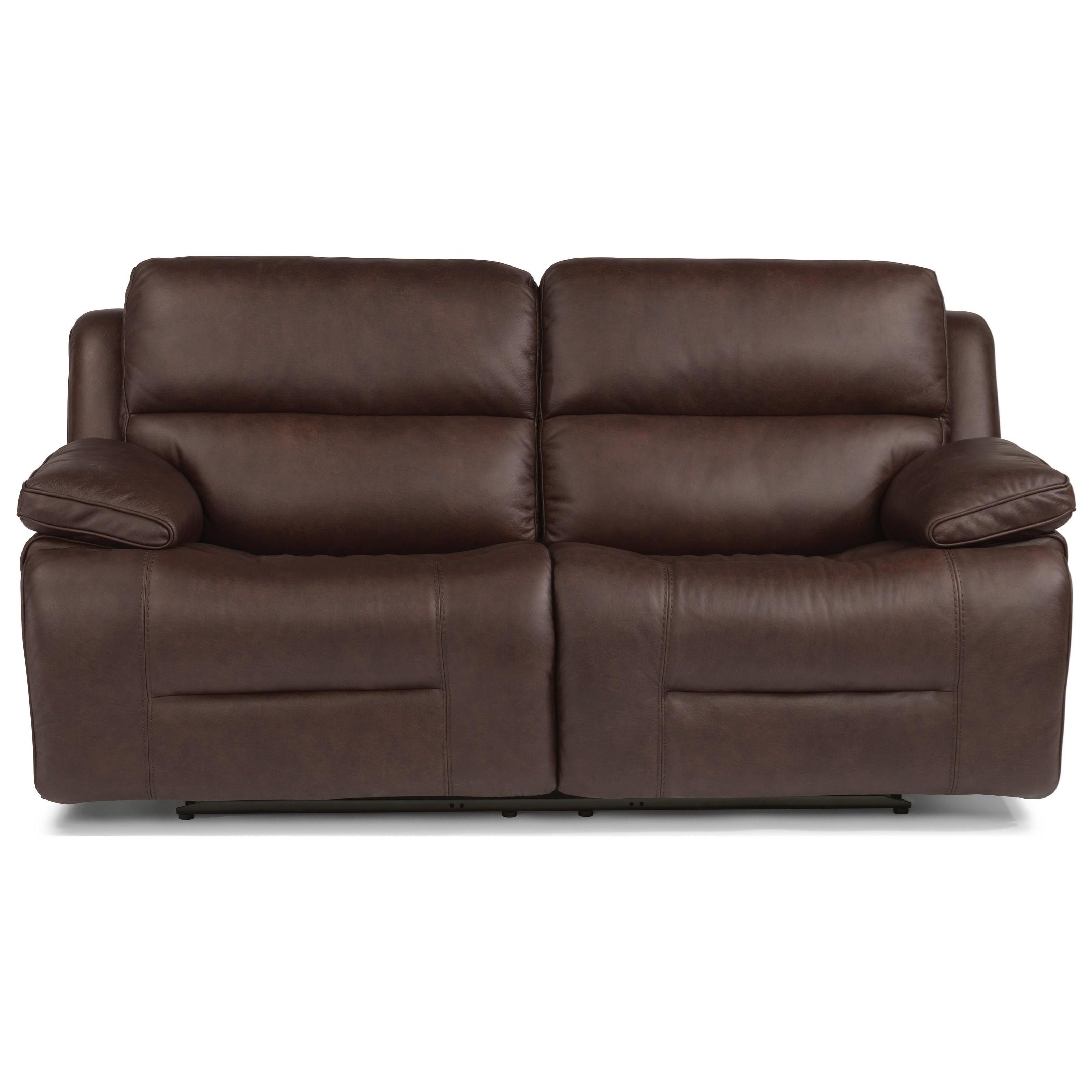 Flexsteel Wrangler Sofa: Flexsteel Creed Casual Power Reclining Sofa With Power