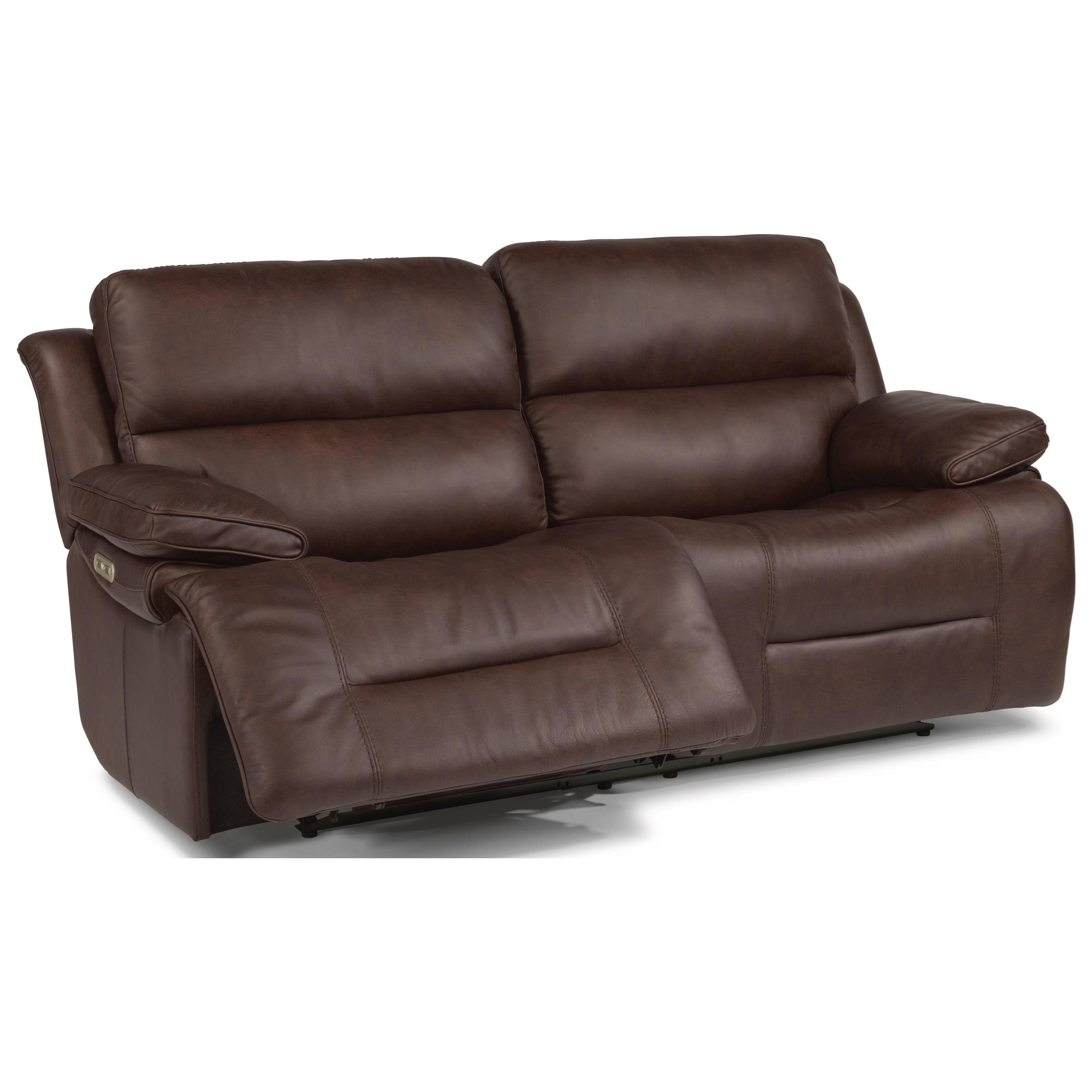 Flexsteel Apollo Casual Power Reclining Sofa With Power