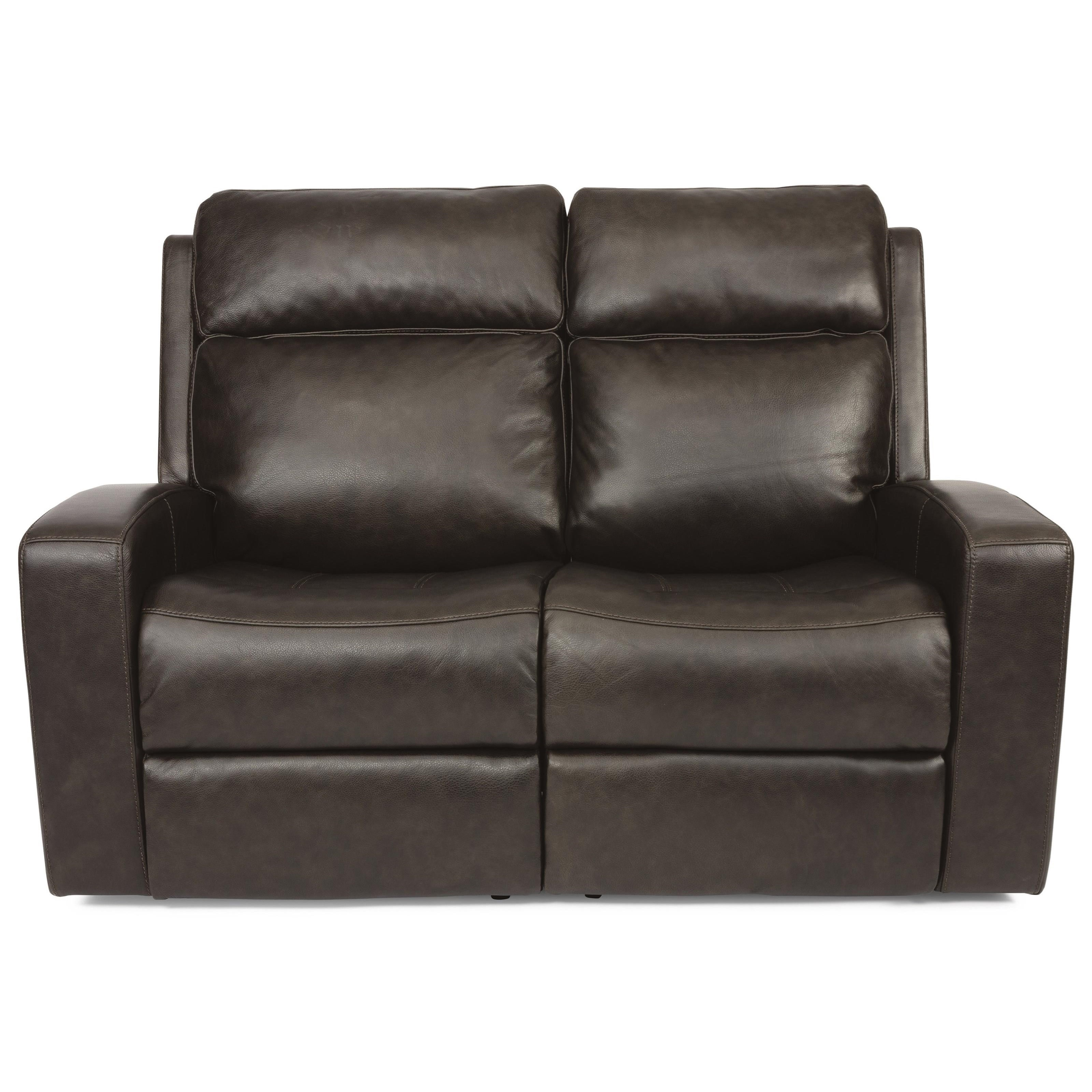 Latitudes - Cody Power Reclining Loveseat by Flexsteel at Furniture and ApplianceMart