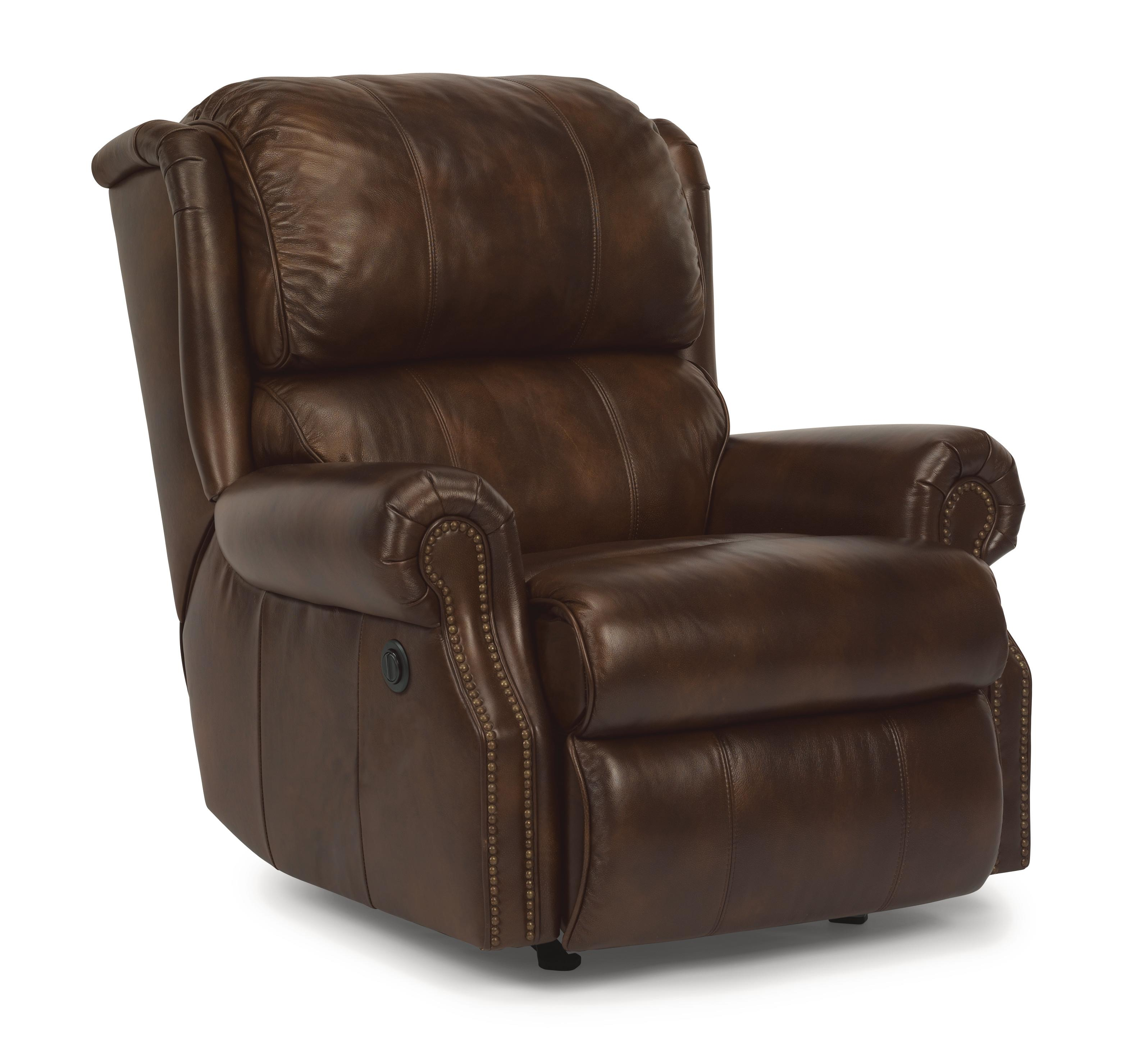 Flexsteel Latitudes - Comfort Zone Recliner w/ Power - Item Number: 1227-500P-LSP-61