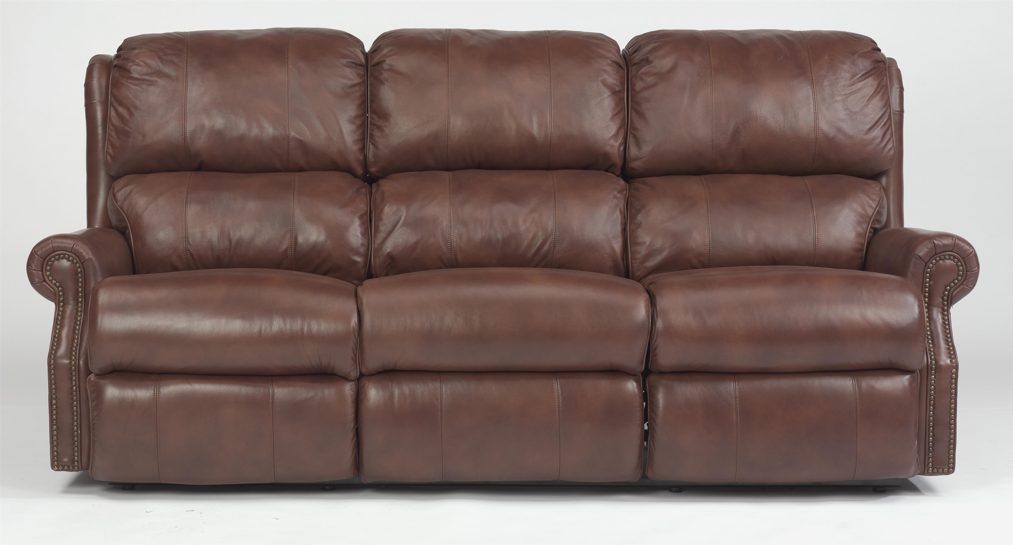 Flexsteel Latitudes - Comfort Zone Power Reclining Sofa - Item Number: 1227-62P-LSP-73