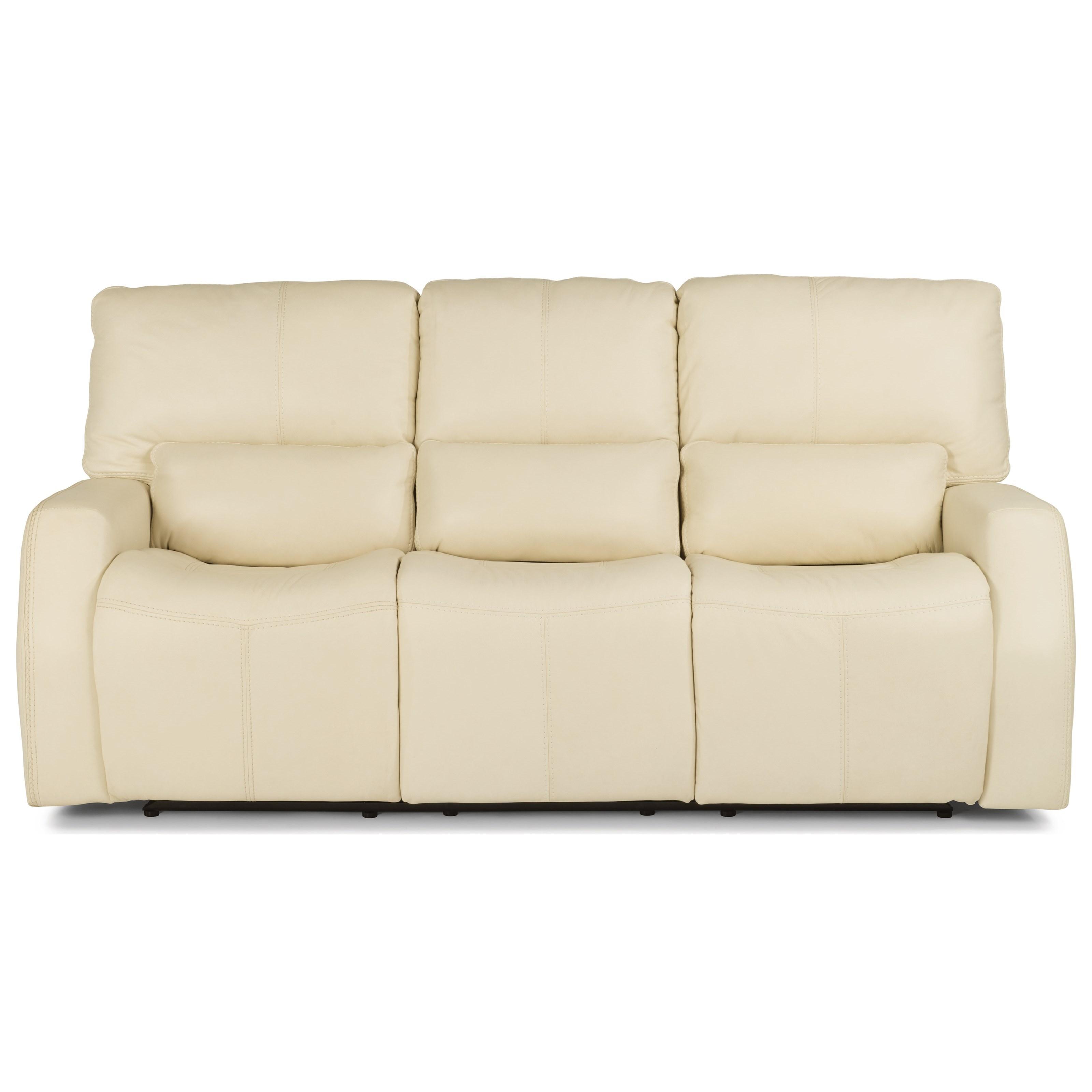 Flexsteel Wrangler Sofa: Cooper 1423-62PH Contemporary Power