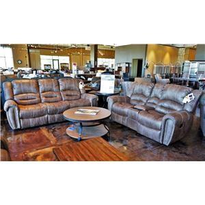 Flexsteel Latitudes - Downtown Double Reclining Sofa