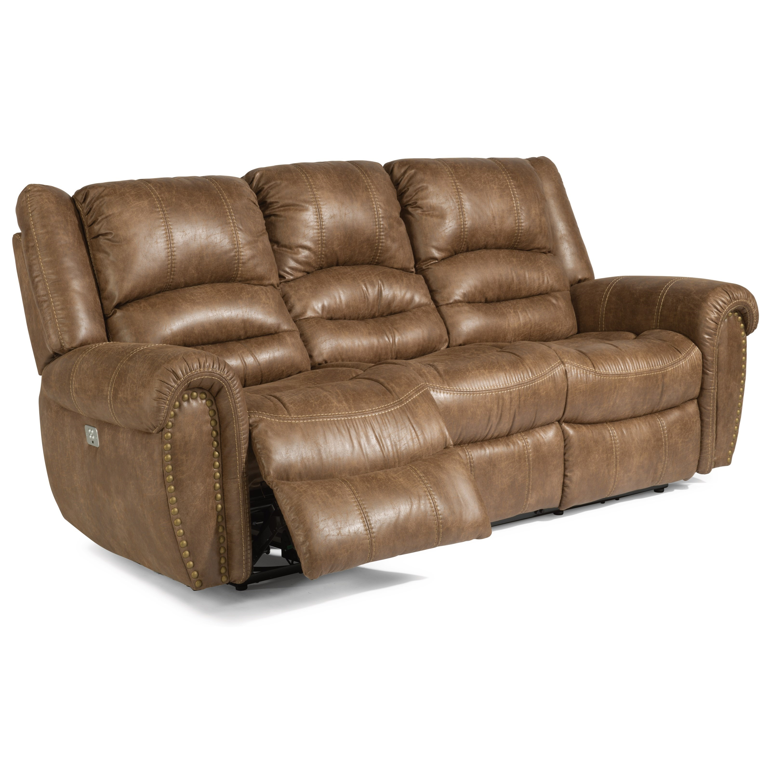Flexsteel Gordon Transitional Power Reclining Sofa