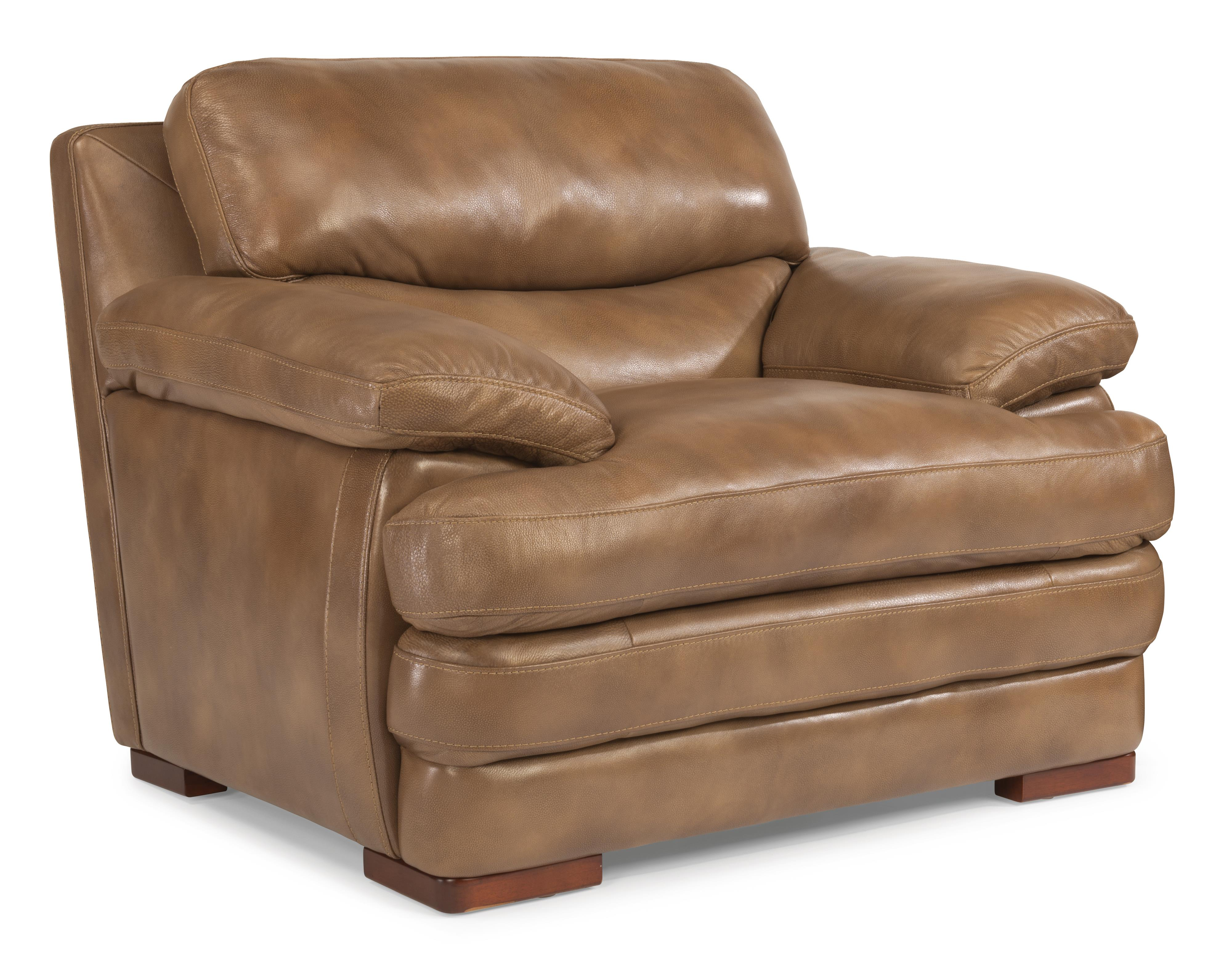 Flexsteel Latitudes - Dylan Leather Chair - Item Number: 1127-10-908-06