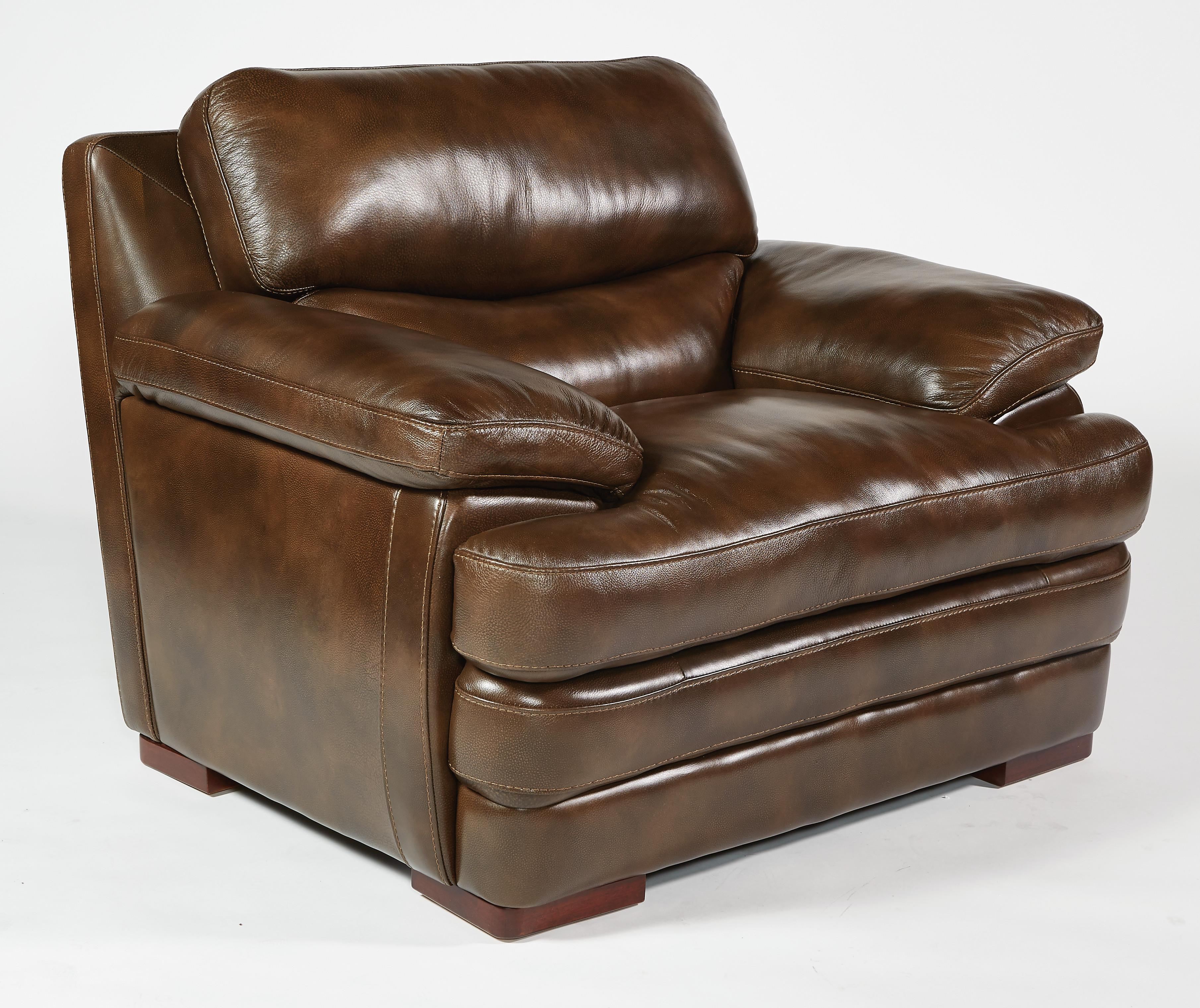 Flexsteel Latitudes - Dylan Leather Chair - Item Number: 1127-10-908-70
