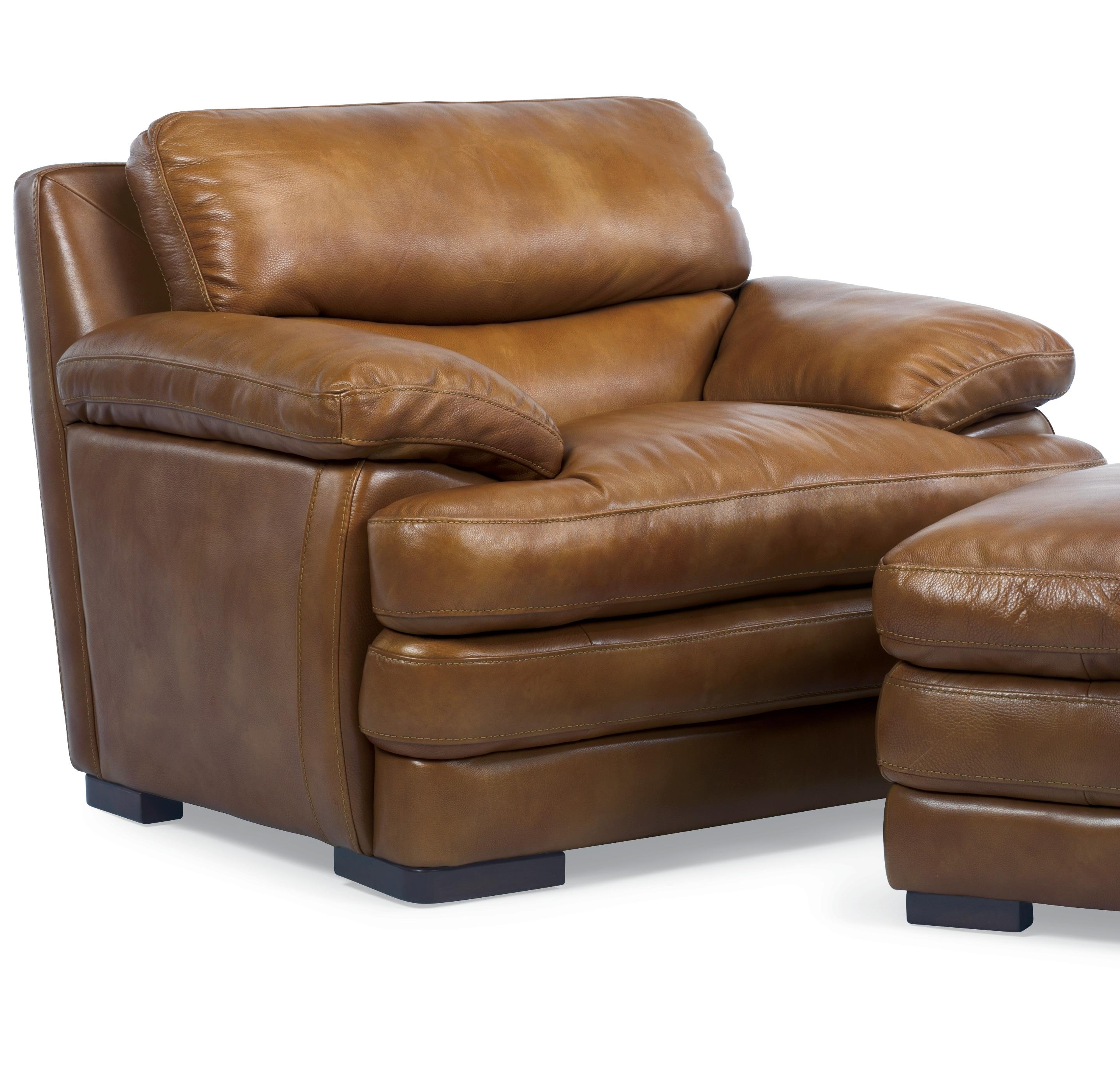 Flexsteel Latitudes   Dylan Leather Chair   Item Number: 1127 10 908