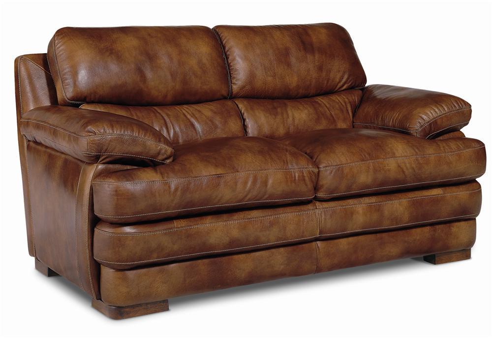 Flexsteel Latitudes - Dylan Leather Love Seat - Item Number: 1127-20