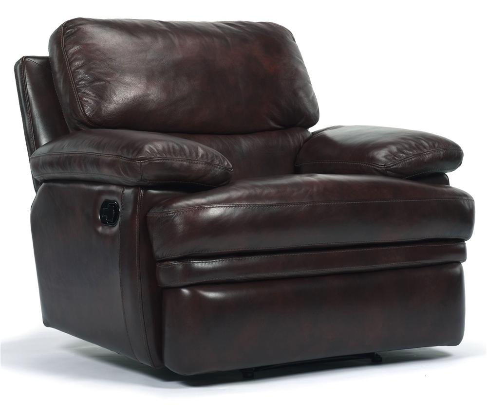 Flexsteel Latitudes   Dylan Leather Wall Recliner   Item Number: 1127 50