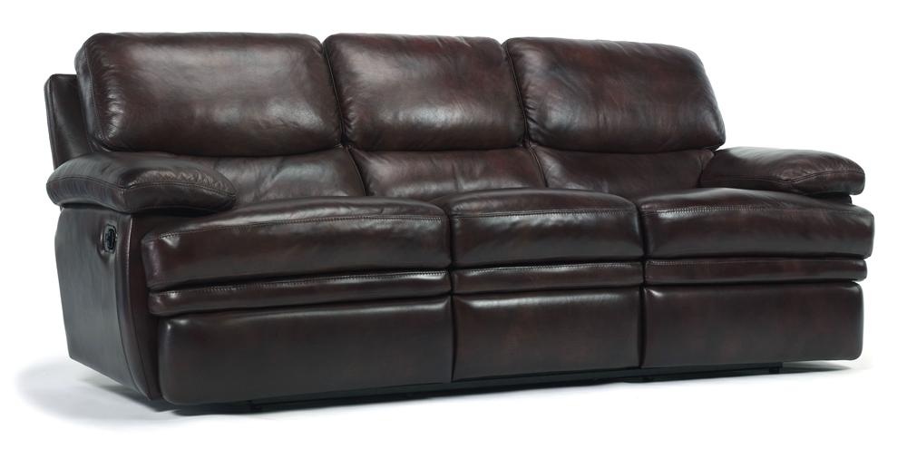 Flexsteel Latitudes Dylan Leather Reclining Sofa Ahfa