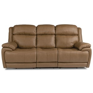 Flexsteel Latitudes - Elijah Power Reclining Sofa With Power Headrest