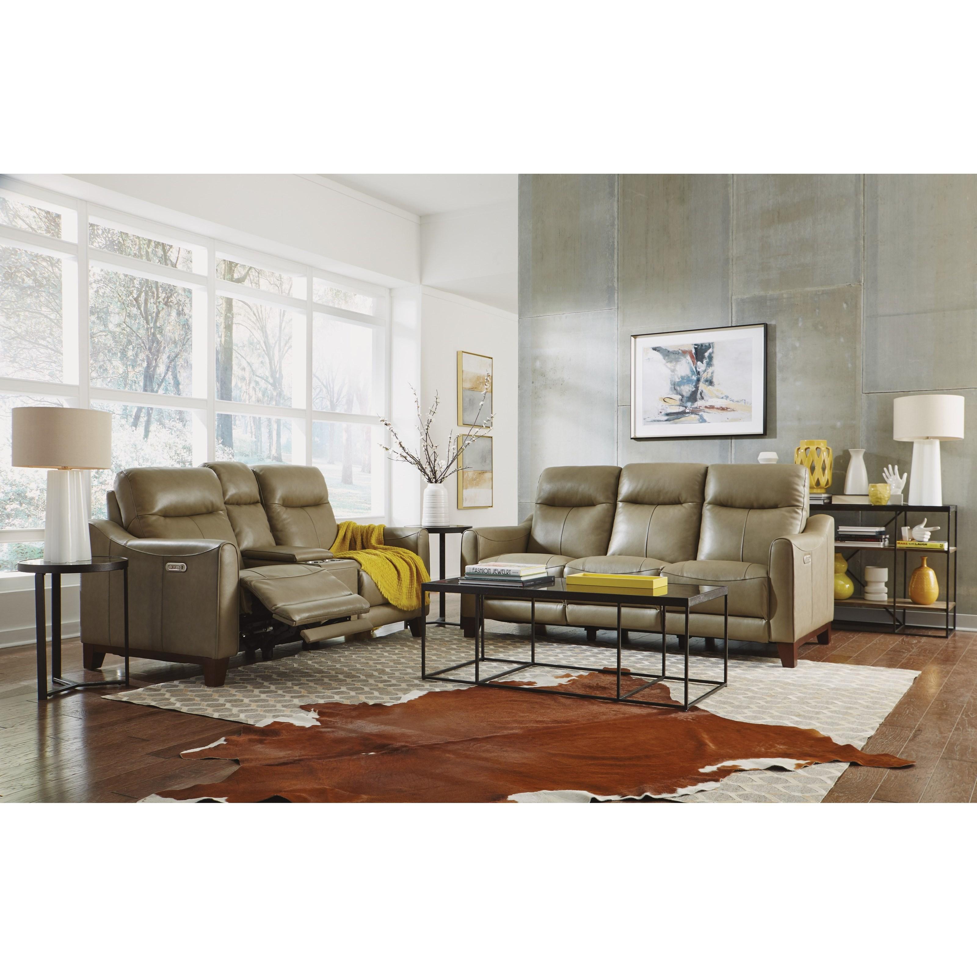 Flexsteel Latitudes - Forte Power Reclining Living Room ...