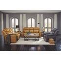 Flexsteel Latitudes - Kingsley Power Reclining Living Room Group - Item Number: 1128 Reclining Living Room Group 1