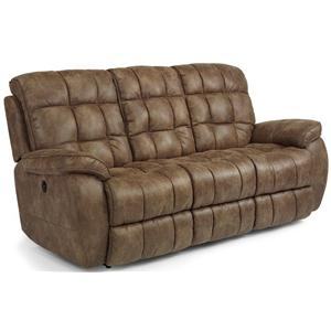 Flexsteel Latitudes - Nashua Power Reclining Sofa