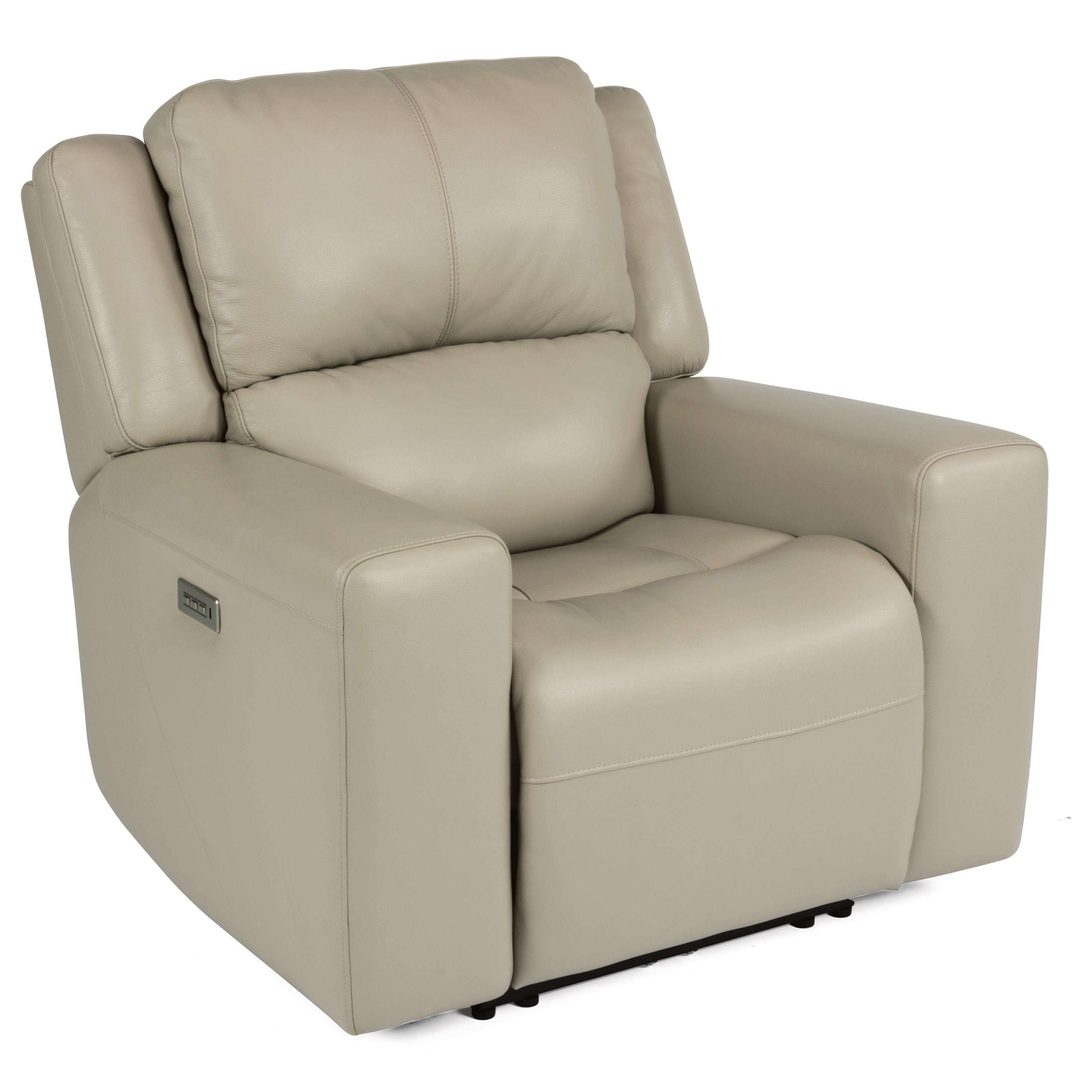 Power Headrest High Leg Recliner