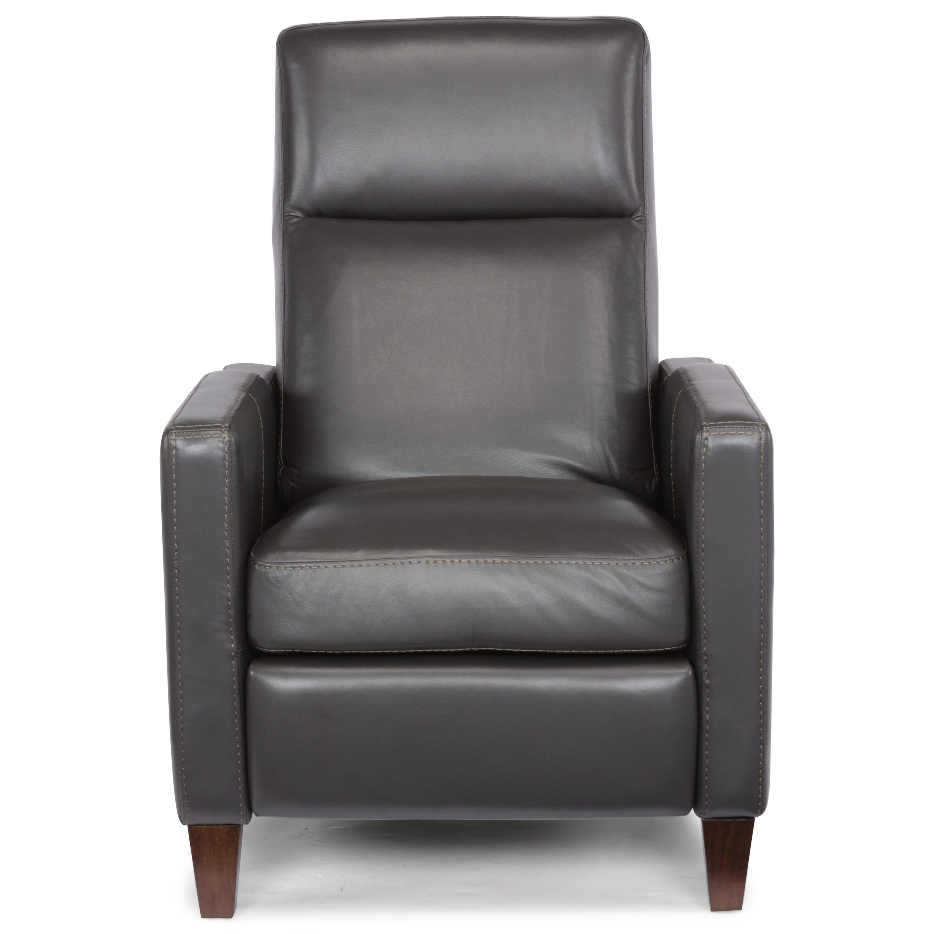 Push-Back High-Leg Recliner