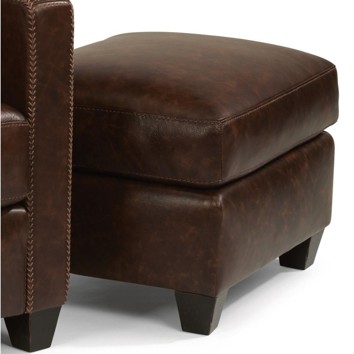 Flexsteel Latitudes Roscoe Modern Rustic Chair Ottoman