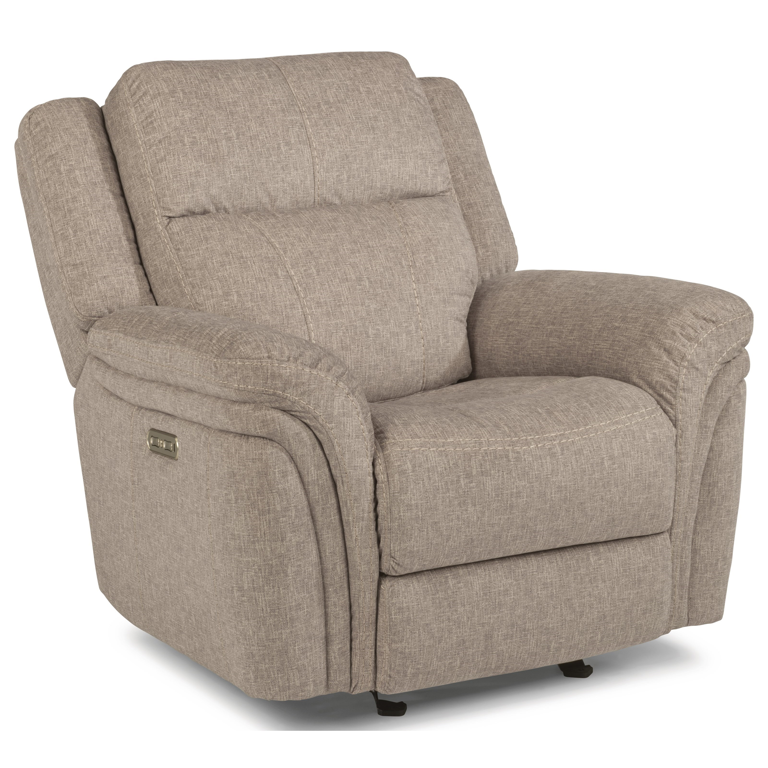Flexsteel Sofa Mission: Silas Casual Power Gliding Recliner