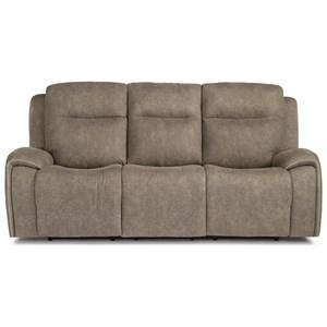 Flexsteel Latitudes - Solo Power Reclining Sofa w/ Power Headrests