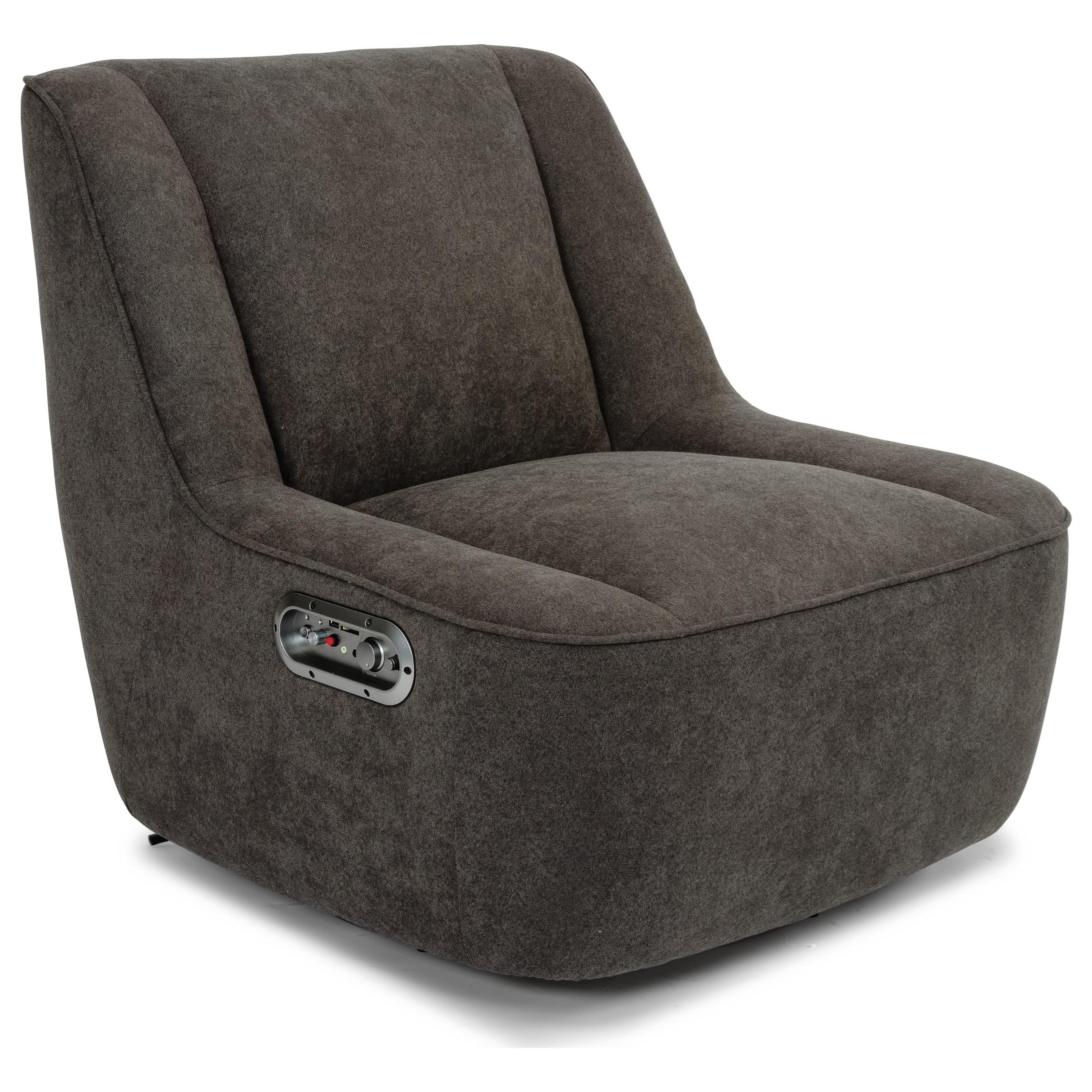 Latitudes - Status Gaming Chair  by Flexsteel at Zak's Home