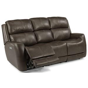 Flexsteel Zelda Power Reclining Sofa