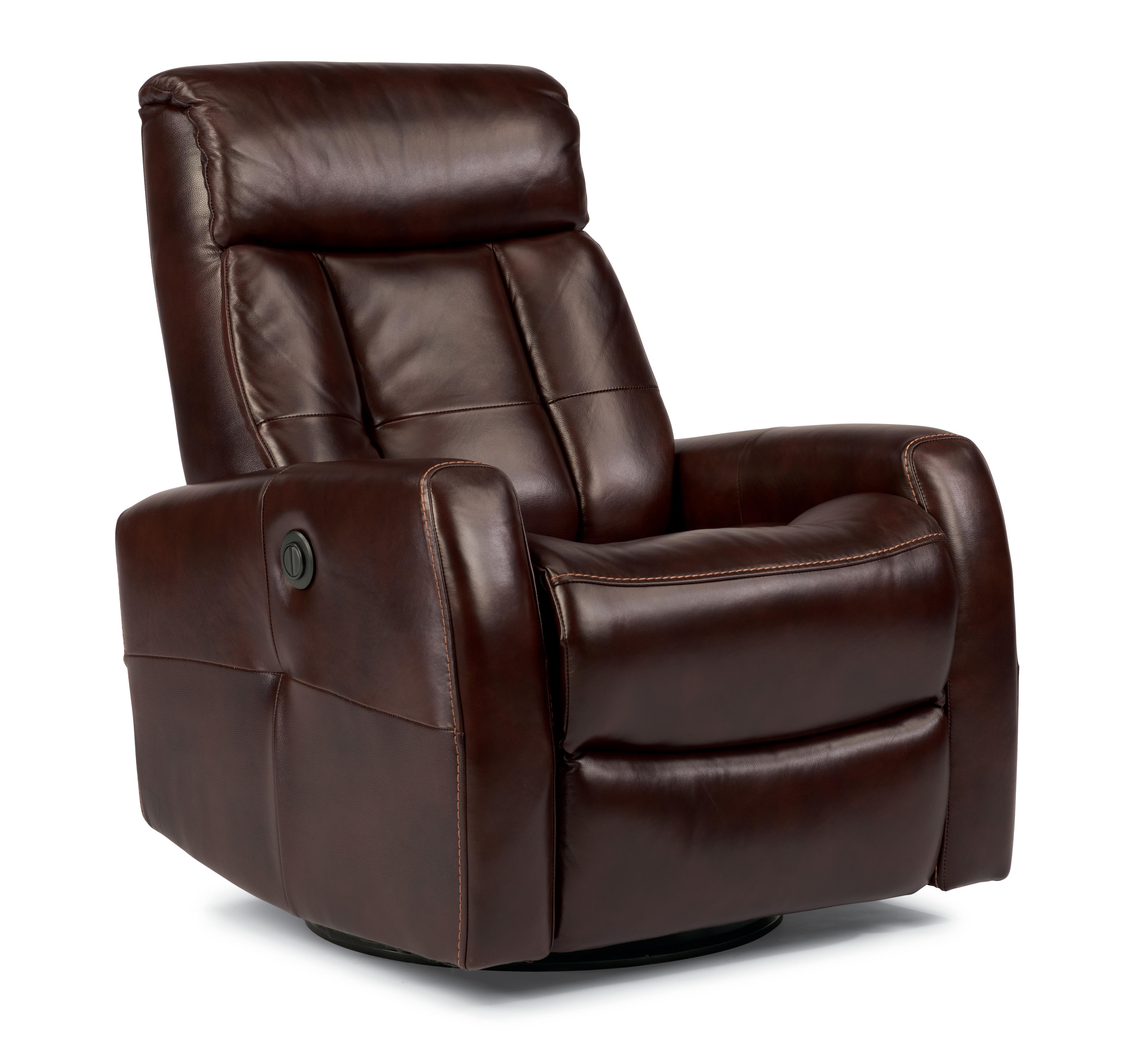 Flexsteel Latitudes Go Anywhere Recliners Galen Queen Power Swivel Glider Recliner - Item Number: 1389-53PQ-752-70