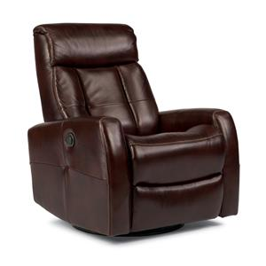 Flexsteel Latitudes Go Anywhere Recliners Galen King Power Swivel Glider Recliner
