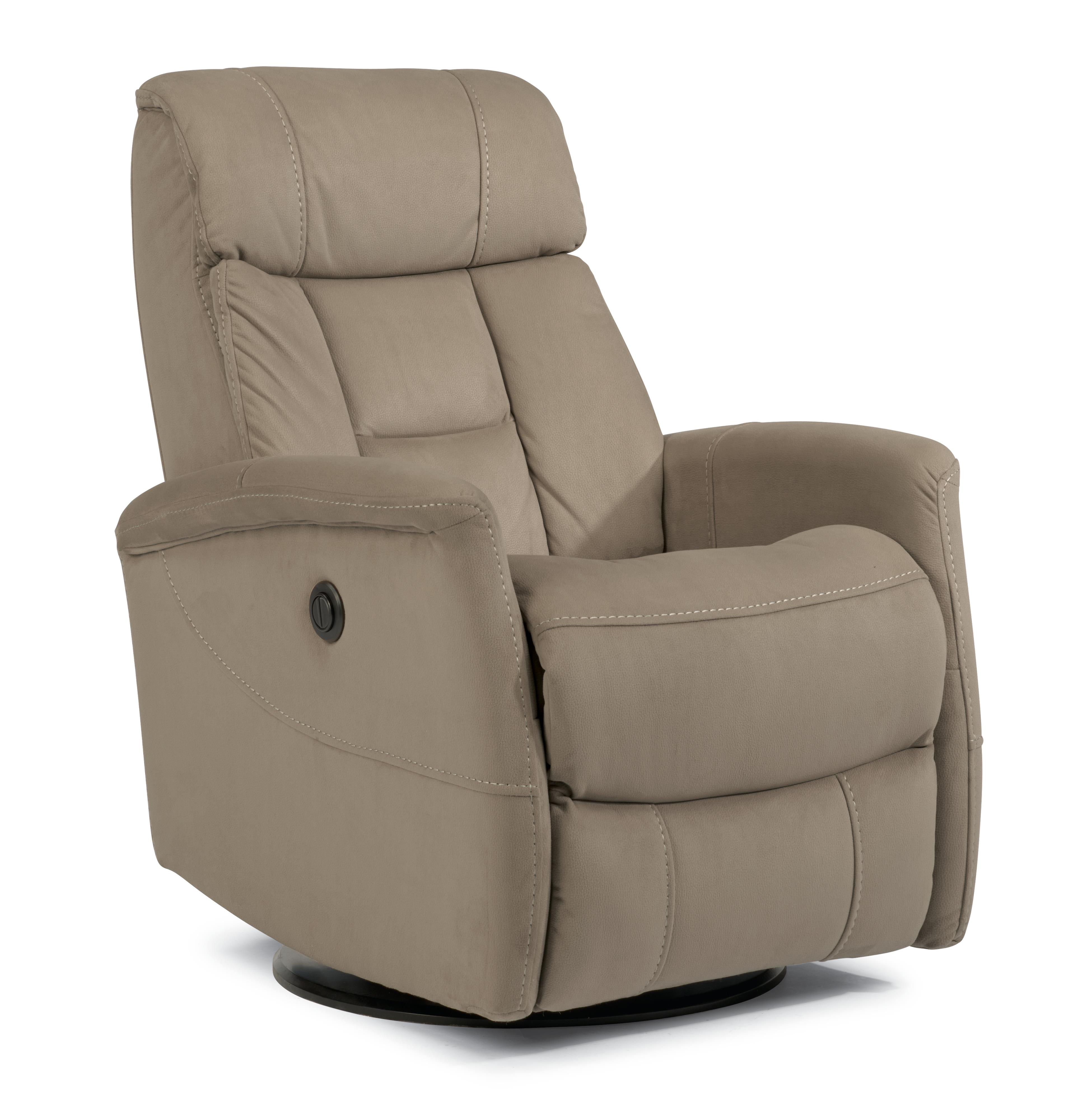 Flexsteel Latitudes Go Anywhere Recliners Hart Queen Size Power Swivel Glider Recliner - Item Number: 1390-53PQ-942-12