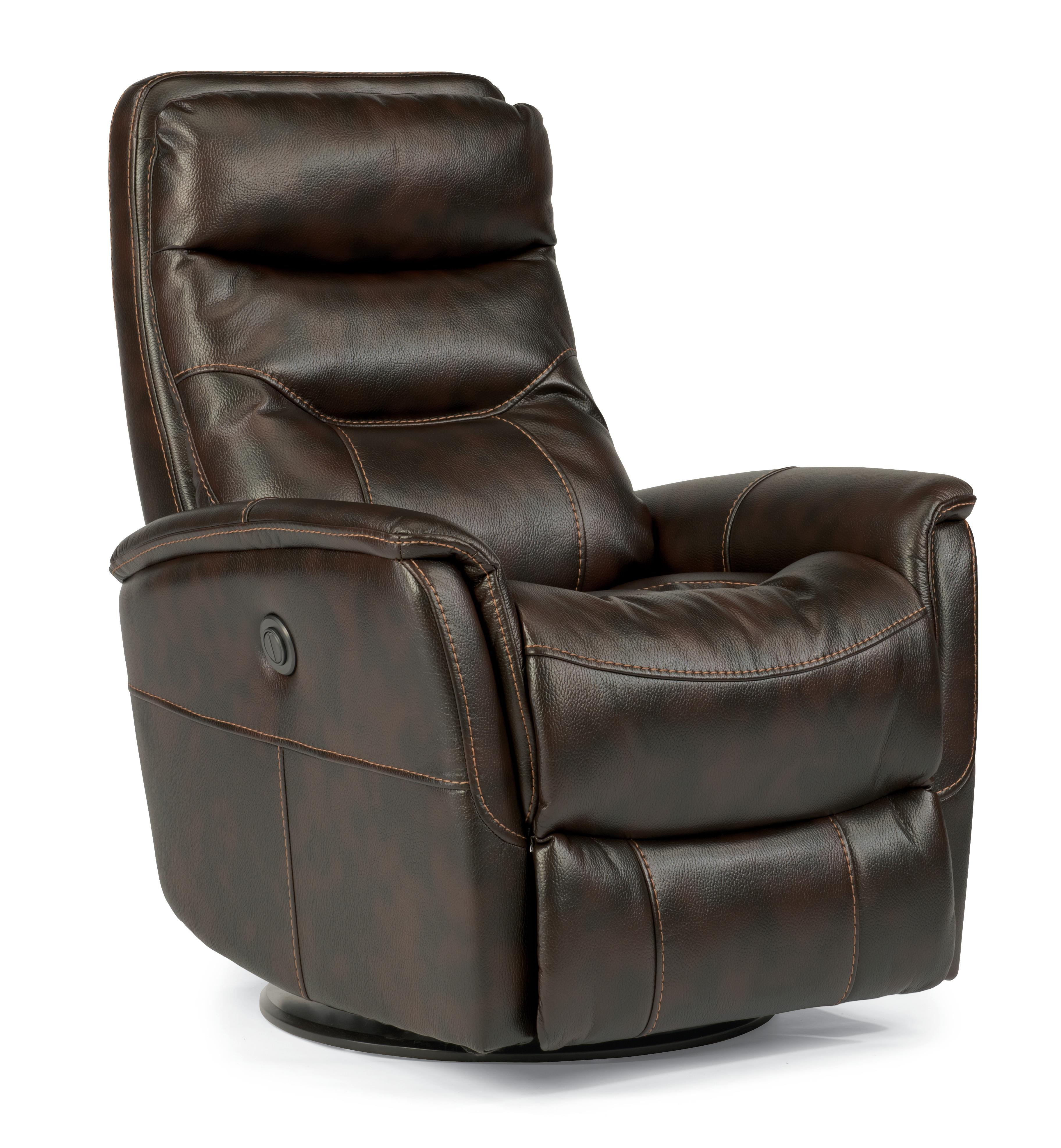 Flexsteel Latitudes Go Anywhere Recliners Alden King Power Swivel Glider Recline - Item Number: 1393-53PK-580-70