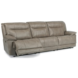 Flexsteel Latitudes-Bliss 3 Pc Power Reclining Sectional Sofa