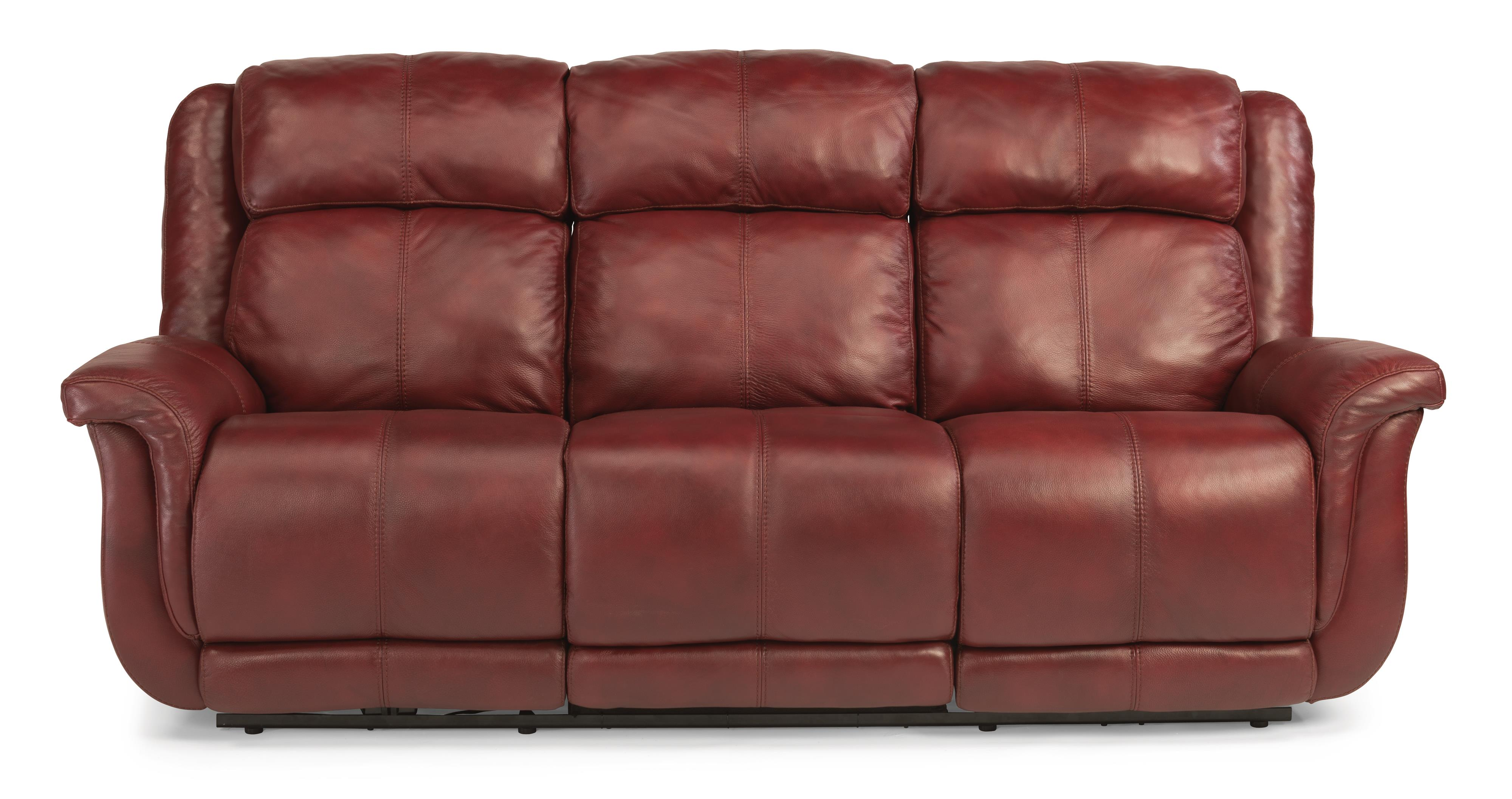 Flexsteel Latitudes-Brookings Power Reclining Sofa - Item Number: 1251-62P-LSP-60