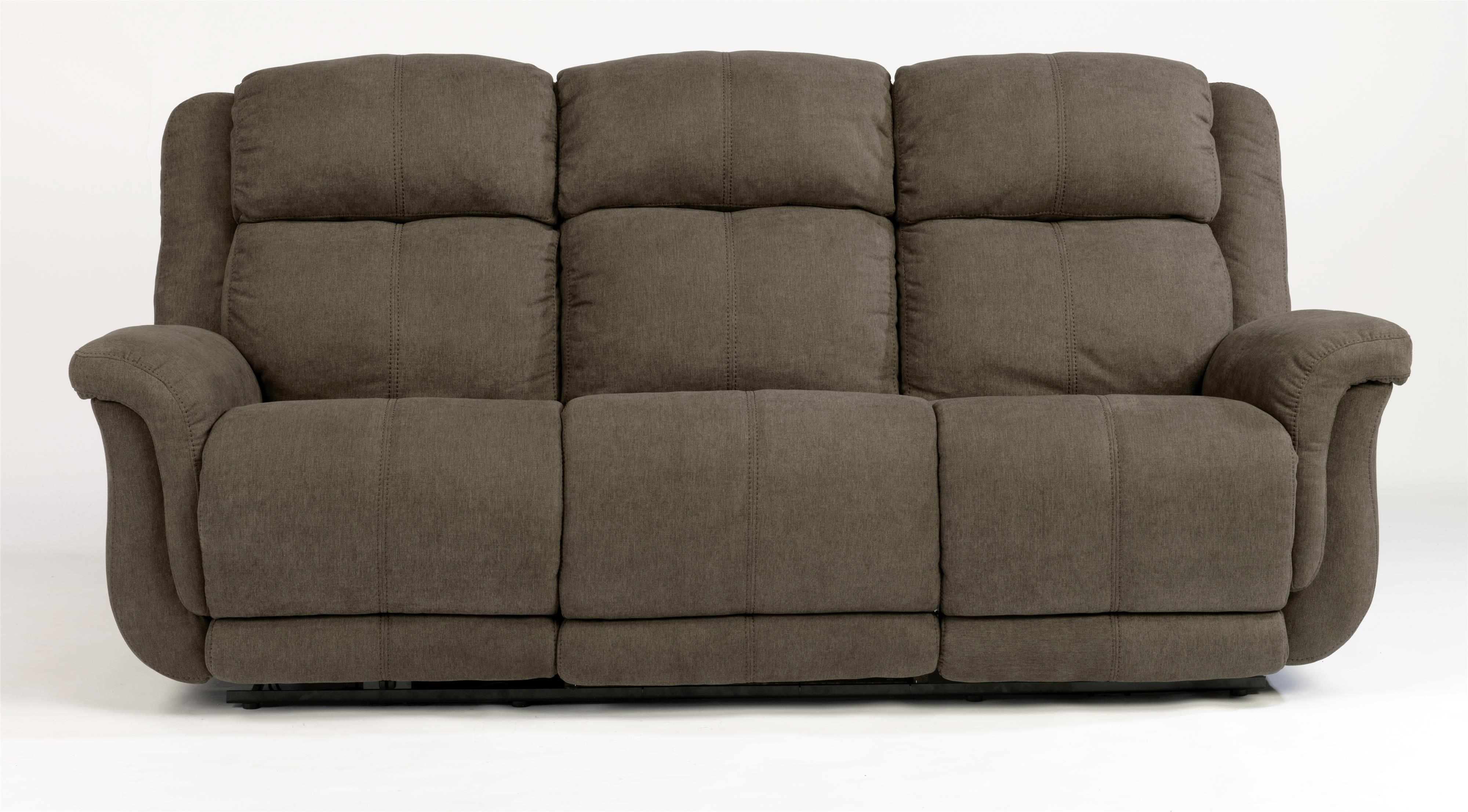 Flexsteel Latitudes-Brookings Power Reclining Sofa - Item Number: F1251-62P-414-02