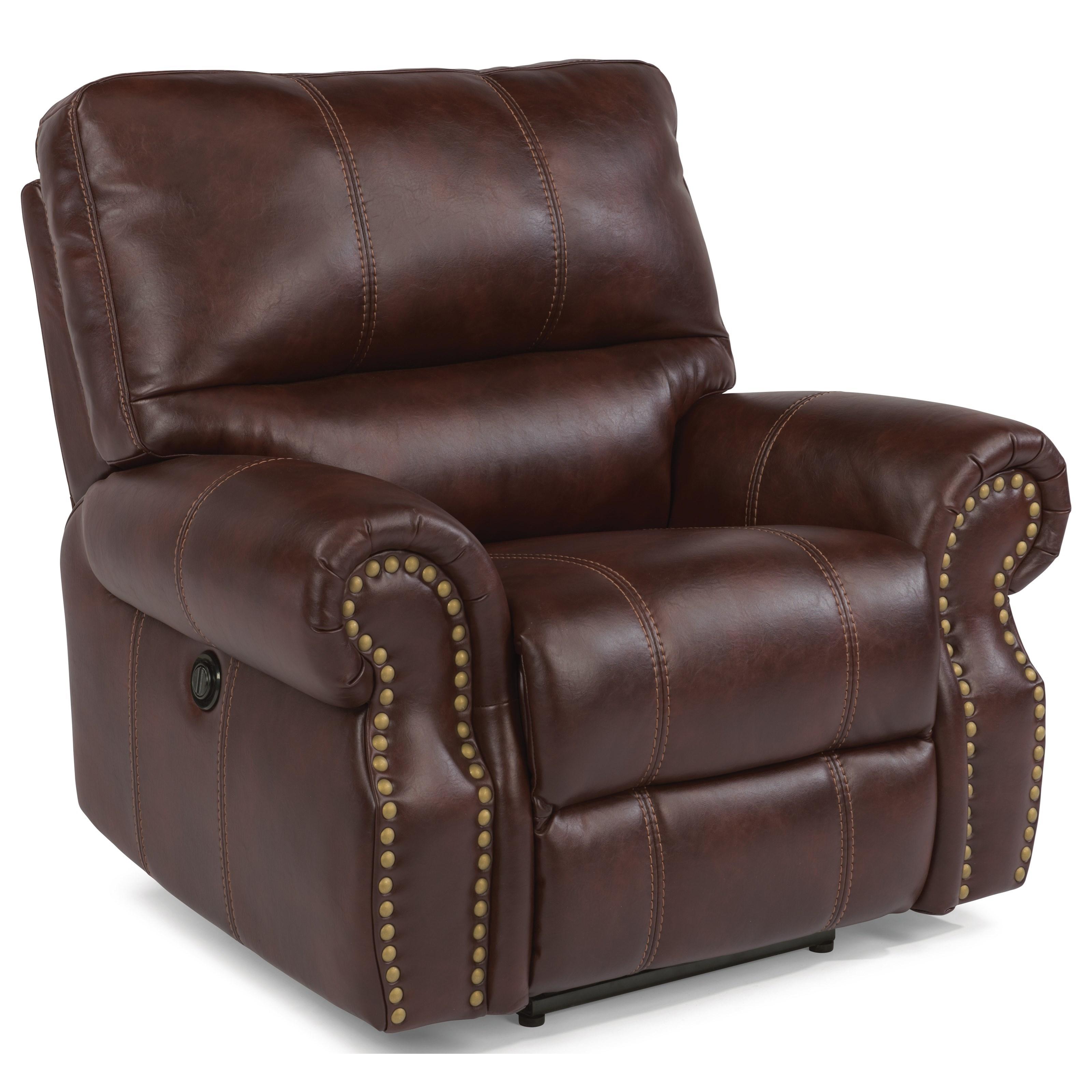 Flexsteel Furniture Telephone Number: Flexsteel Latitudes-Carlton Traditional Power Recliner