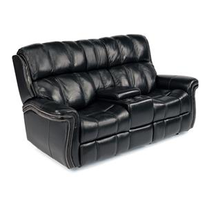 Flexsteel Latitudes - Challenger Power Reclining Loveseat w/ Console